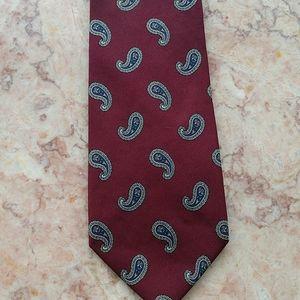 Brooks Brothers Imported Silk Paisley Tie